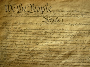 Will our younger generations be able to read the Constitution if cursive writing is no longer taught? Image U.S. Constitution courtesy of Flickcc 69356033 @ N00/498309798.